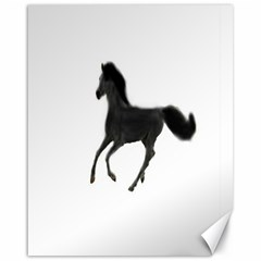 Running Horse Canvas 16  x 20  (Unframed)