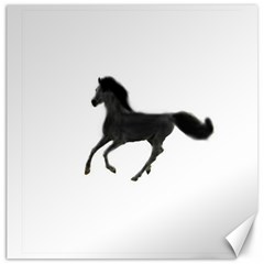 Running Horse Canvas 20  X 20  (unframed)