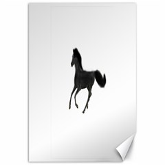 Running Horse Canvas 20  X 30  (unframed)