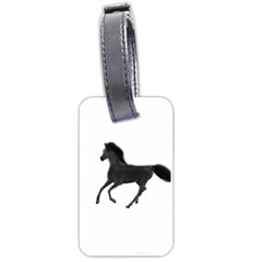 Running Horse Luggage Tag (One Side)