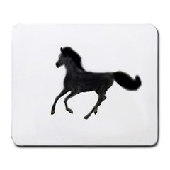 Running Horse Large Mouse Pad (Rectangle)