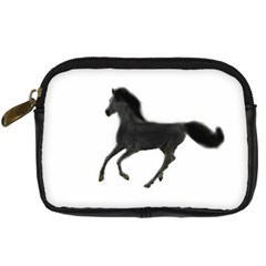 Running Horse Digital Camera Leather Case