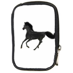 Running Horse Compact Camera Leather Case