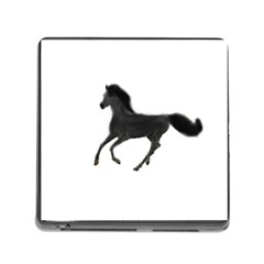 Running Horse Memory Card Reader with Storage (Square)