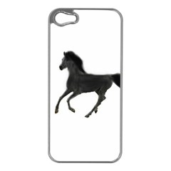 Running Horse Apple iPhone 5 Case (Silver)