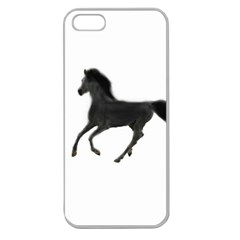 Running Horse Apple Seamless iPhone 5 Case (Clear)