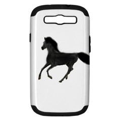 Running Horse Samsung Galaxy S Iii Hardshell Case (pc+silicone)