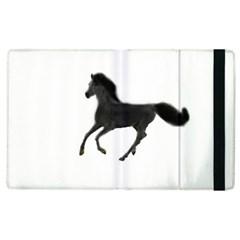 Running Horse Apple Ipad 2 Flip Case
