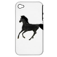 Running Horse Apple iPhone 4/4S Hardshell Case (PC+Silicone)