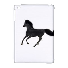 Running Horse Apple iPad Mini Hardshell Case (Compatible with Smart Cover)