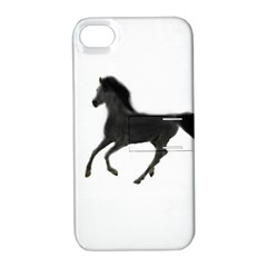 Running Horse Apple iPhone 4/4S Hardshell Case with Stand