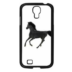 Running Horse Samsung GALAXY S4 I9500/ I9505 (Black)