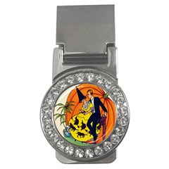 Hallowe en Greetings  Money Clip (CZ)