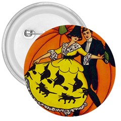 Hallowe en Greetings  3  Button