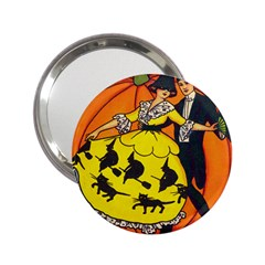 Hallowe en Greetings  Handbag Mirror (2.25 )