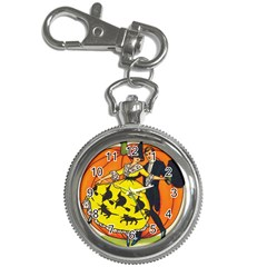 Hallowe en Greetings  Key Chain & Watch