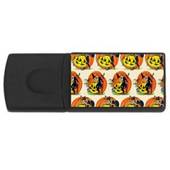 Hallowe en Greetings  2GB USB Flash Drive (Rectangle)