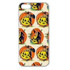 Hallowe en Greetings  Apple Seamless iPhone 5 Case (Clear)