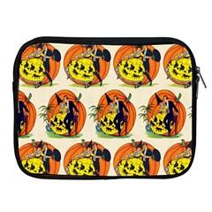 Hallowe en Greetings  Apple iPad 2/3/4 Zipper Case