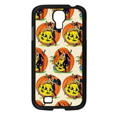 Hallowe en Greetings  Samsung GALAXY S4 I9500/ I9505 (Black)