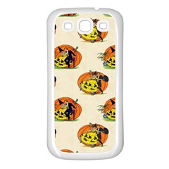 Hallowe en Greetings  Samsung Galaxy S3 Back Case (White)