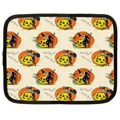 Hallowe en Greetings  Netbook Case (XL)