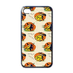 Hallowe en Greetings  Apple iPhone 4 Case (Black)