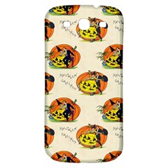 Hallowe en Greetings  Samsung Galaxy S3 S III Classic Hardshell Back Case