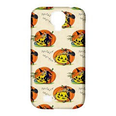 Hallowe en Greetings  Samsung Galaxy S4 Classic Hardshell Case (PC+Silicone)