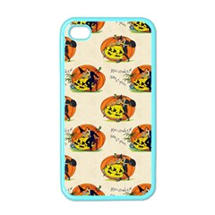 Hallowe en Greetings  Apple iPhone 4 Case (Color)
