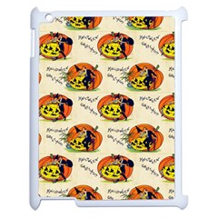 Hallowe en Greetings  Apple iPad 2 Case (White)