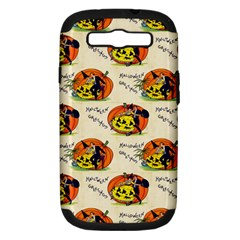 Hallowe en Greetings  Samsung Galaxy S III Hardshell Case (PC+Silicone)