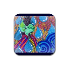 Rain Drink Coasters 4 Pack (Square)