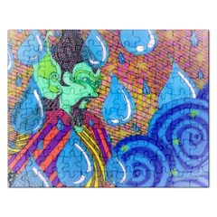 Rain Jigsaw Puzzle (Rectangle)