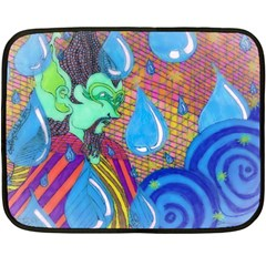 Rain Mini Fleece Blanket (Two-sided)