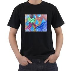 Rain Mens' T-shirt (Black)