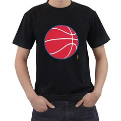 Los Angeles Clippers Mens' Two Sided T Shirt (black)