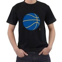 Golden State Warriors basketballshirt Mens' T-shirt (Black)
