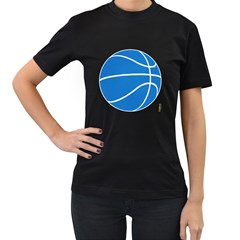 Dallas Mavericks basketball shirt Womens' T-shirt (Black)
