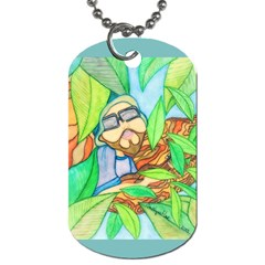 Tree Song Dog Tag (one Sided)