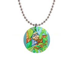 Tree Song Button Necklace