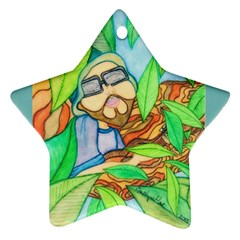 Tree Song Star Ornament (two Sides)