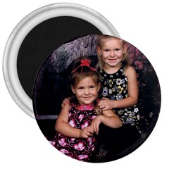 Candence And Abbey   Copy 3  Button Magnet
