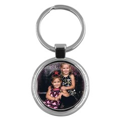 Candence And Abbey   Copy Key Chain (round)