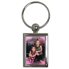 Candence And Abbey   Copy Key Chain (rectangle)