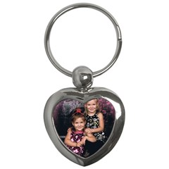 Candence And Abbey   Copy Key Chain (heart)