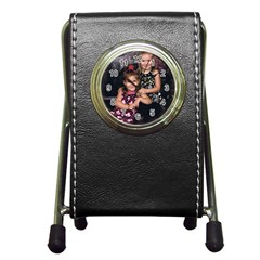 Candence And Abbey   Copy Stationery Holder Clock
