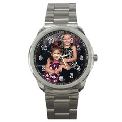 Candence And Abbey   Copy Sport Metal Watch