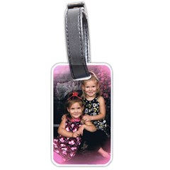 Candence And Abbey   Copy Luggage Tag (Two Sides)