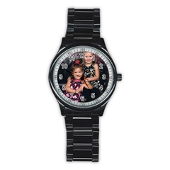 Candence And Abbey   Copy Sport Metal Watch (Black)
